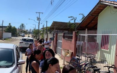 ABC Empreendimentos/Embralot faz a Páscoa de dezenas de famílias mais doce